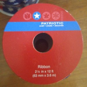 None Holiday - Patriotic ribbon